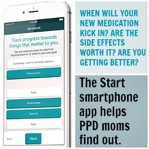 Start App postpartum depression